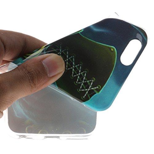 Eule mit Brille Drucken Design weich Silikon TPU schutzhülle Hülle für Apple iPhone 6 6S 4.7'' (4,7''),Premium Handy Tasche Schutz Case Cover Schale für Apple iPhone 6 6S 4.7'' (4,7'')