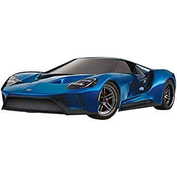 Traxxas 1/10 4WD Ford GT Vehicle with TQ 2 4GHz Radio System, Liquid Blue