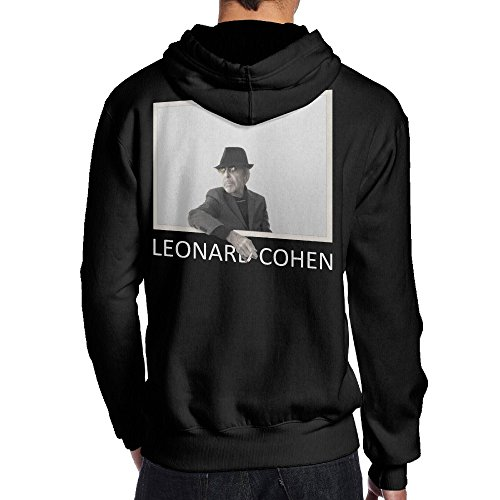 SAMMOI Leonard Cohen Men's Hoodie S Black