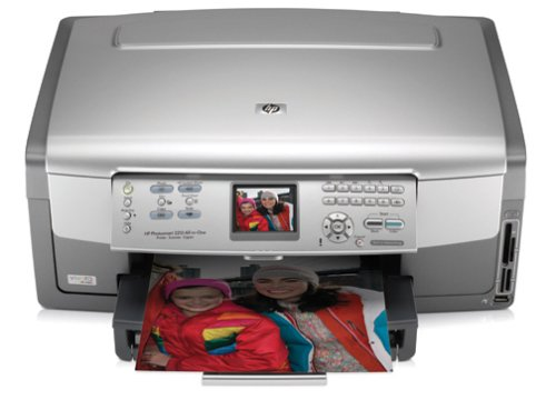 HP Photosmart 3210 All-in-One Printer, Copier, and Scanner