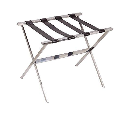 Household Essentials Luggage Rack, Stainless Steel ()