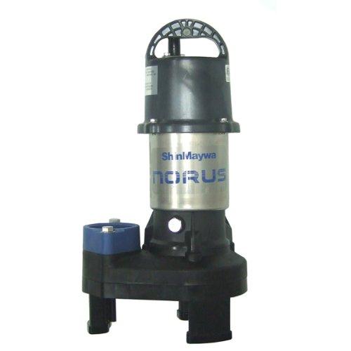 115v Solids Handling Water (ShinMaywa 50CR2.15S Norus Series 3300 GPH1/5HP Waterfall Pump)