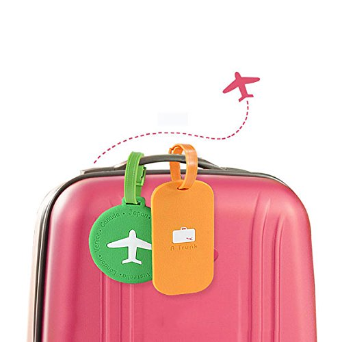 Captains Line Model Ships (Others Home Goods - Kc-Lp09 Silicone Travel Luggage Tags Colorful Silicone Suitcase Label Travel Accessories - Polymer Trip Baggage Journey Tail Jaunt Dog Rag Move Track Locomotion Chase - 1PCs)