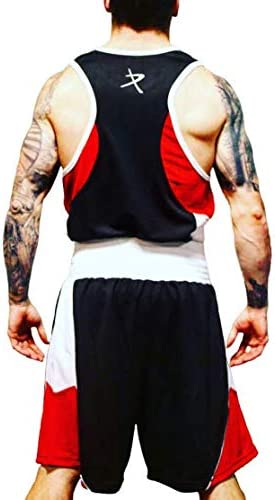 pro impact unisex boxing vest top and shorts