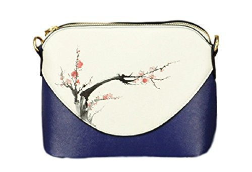 O-Tokyo  Asian Japanese Style Crossbody Shoulder Bag for Women Hand Painted f0d5b24fc1c