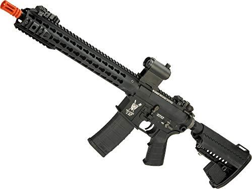 (Evike King Arms TWS M4 Carbine Airsoft AEG with Keymod Handguard (Color: Black))