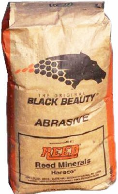 HARSCO MINERALS INTL BBMED50 50LB MED Black Beauty by Harsco Minerals Intl