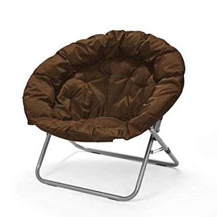 Pleasant Urban Shop Saucer Chair Brown Forskolin Free Trial Chair Design Images Forskolin Free Trialorg