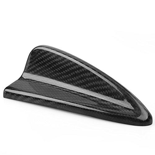 1Pcs VW Golf GTI BMW E46 M3 E60 M5 Real Carbon Fiber Shark Fin Antenna (E60 Carbon)