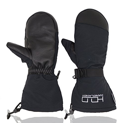 Insulated Mittens for Men Women, 3M Thinsulate Ski Snowboarding Mitts- Warm Windproof Water Resistant Mitten Gloves