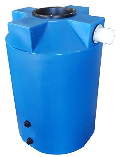 100 Gallon Rain Harvest Collection Tank, Light Blue by Polymart