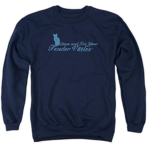Tender Vittles Cat Food Pet Nestle Purina Come And Get Em Adult Crew Sweatshirt