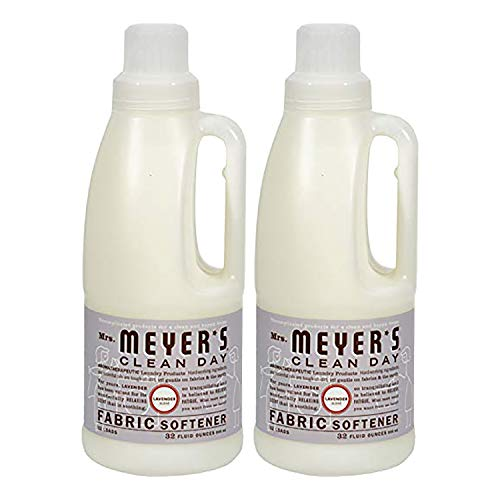 Softener Liquid Natural Fabric - Mrs.Meyer's Clean Day Fabric Softener Lavender-32 oz Pack of 2