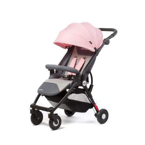 Bebe Due NIK PINK - Silla de paseo plegable y multifunci