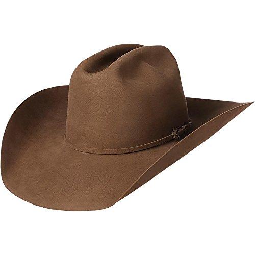 NRS American Hat Company Mens 200x Pecan 4 1/4 Brim Felt Open Crown Cowboy Hat