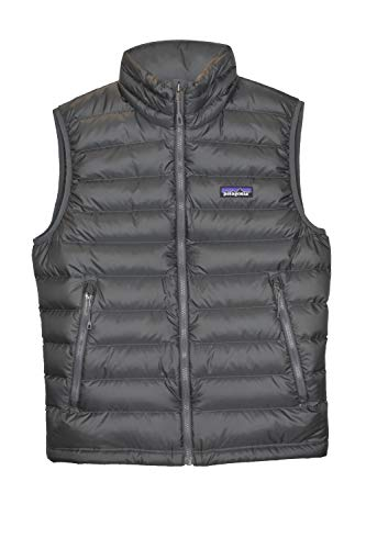 Patagonia Men's Down Sweater Vest (Large, Forge Grey w/ Forge Grey)