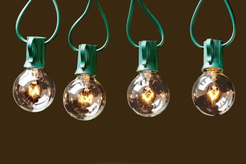 Deneve G40 String Lights with 25 Clear Globe Bulbs - Green in the UAE. See prices, reviews and ...