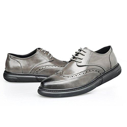 Vintage Oxford Per Sposa Scarpe Scarpe Classiche Stringate Formali Da Da Eleganti Uomo Business Uomo Scarpe Grey dtwqzSw