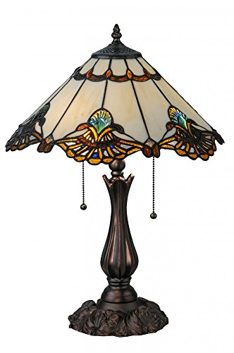 Cheap Meyda Tiffany 144058 Shell With Jewels Table Lamp, 21″ Height