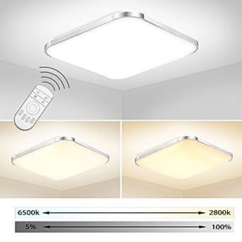 ERWEY LED Deckenleuchte Bad 85V-265V Deckenlampe Designleuchte Wand ...