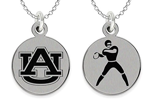 - College Jewelry Auburn University Tigers Charm - Stainless Steel Football Charm
