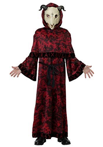 Kids Evil Skull Demon Costume Large