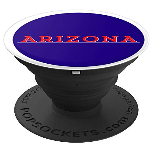 Arizona Pop socket Navy Blue and Red - PopSockets Grip and Stand for Phones and Tablets