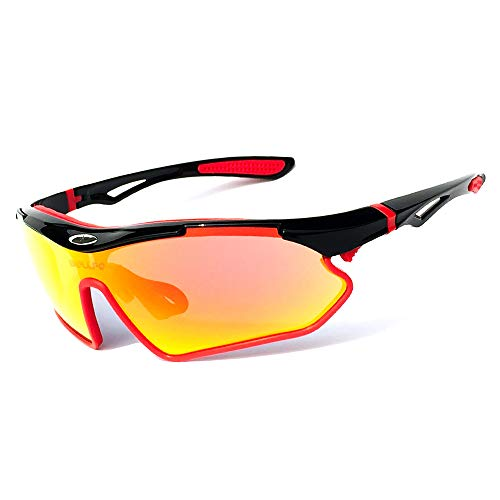 FENGSHUAI Bicycle Glasses, Portable Windproof and Dustproof Outdoor Sports Goggles, Universal Sunglasses for Cycling, Fishing, Trave (Sonnenbrille Reader)
