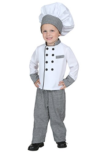Toddler Chef Costume 4T (Too Soon Costumes)