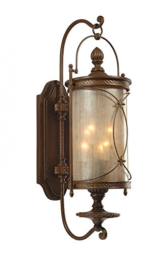 - Corbett 28574476 Six Light Moritz Bronze Wall Lantern
