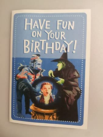 Musical birthday card have fun on your birthday wizard of oz musical birthday card have fun on your birthday wizard of oz plays bookmarktalkfo Image collections