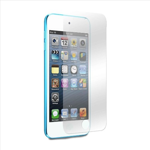 Kit Me Out CA 5 Screen Protectors with MicroFibre Cleaning Cloth for Apple iPod Touch 5 (5th Generation)