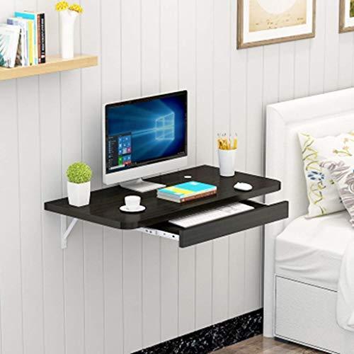 Escritorio montado en la pared del ordenador portatil de la computadora Mesa de la pared Escritorio de la computadora portatil del ordenador portatil Mesa de comedor para la oficina en el hogar, ninos