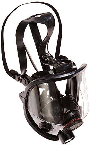 7600 Series Silicon Full Facepiece with 5 Strap Head Harness, Small by Northfifteen