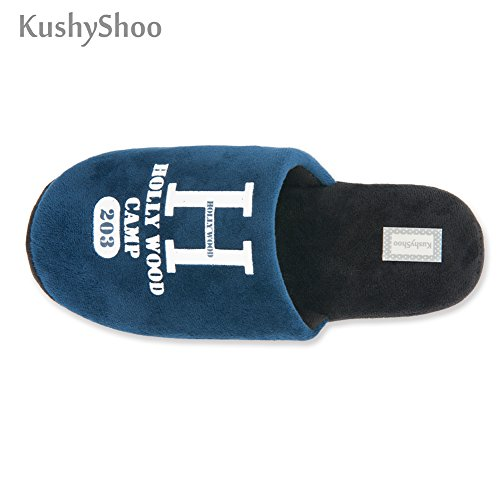 Kushyshoo Womens Comfort Slip-on Indoor Outdoor Pantofole Da Casa Con Zoccoli Blu Scuro