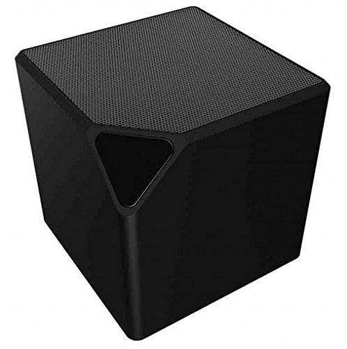 Bigben Interactive BT14N Altavoz portátil 9 W Negro - Altavoces portátiles (9 W, Inalámbrico y alámbrico, 10 m, Negro, Cubo, Digital)