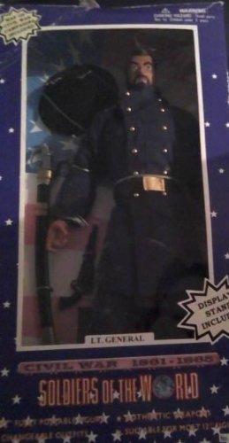te hará satisfecho Soldiers of the World Civil Civil Civil War Lt. General 12  Figura by Formative International  diseños exclusivos