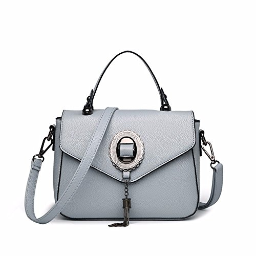 A With Shoulder Gaoqiangfeng Bag Gray Bag Single Light Small A Gray Light ptfw1YqxwI