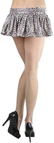 Leopard Print Mini Skirt - 5