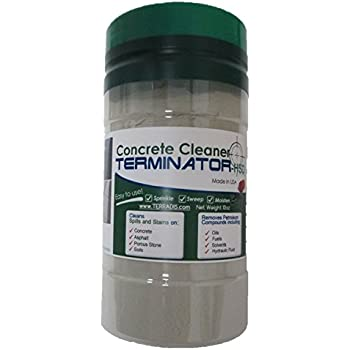 Concrete and driveway cleaner by terminator for Concrete driveway cleaner