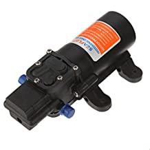 DC 12V Fresh Water Diaphragm Self Priming Pressure Pump