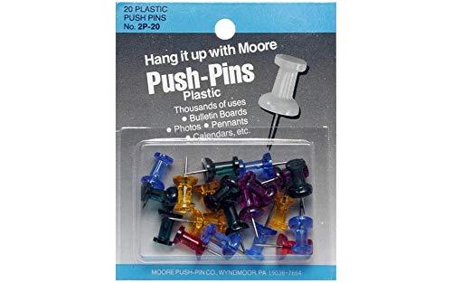 gem stone push pins - 8