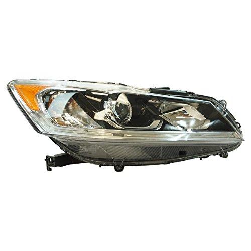 Honda Accord Rh Headlamp Light - Halogen Headlight Lamp Assembly RH Passenger Side for Honda Accord LX Sedan