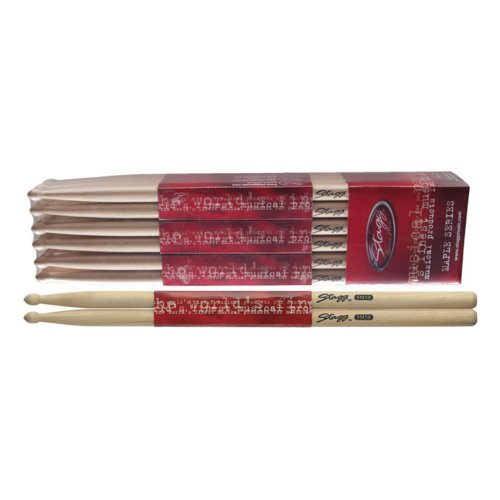 Stagg Maple 5B Holztip Drumsticks SM5B12 (1 Paar)