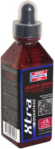 Muscle Marketing USA Xtra Advantage Creatine Serum, Wild Cherry, 5.1 Ounces