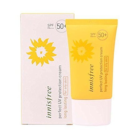 Innisfree:)NEW Perfect UV Protection Cream Long Lasting For Oily Skin 50ml [WATER RESISTANT] (Cream Protection Sun Waterproof)