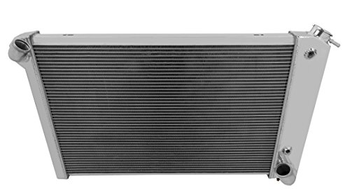 Champion Cooling, 3 Row All Aluminum Replacement Radiator for Corvette, CC1655