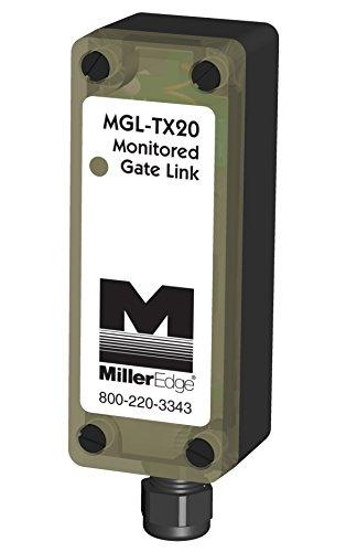 Miller Edge MGL-TX20 Wireless Transmitter Only for Monitored 10K Ohm Gate Sensing Edge