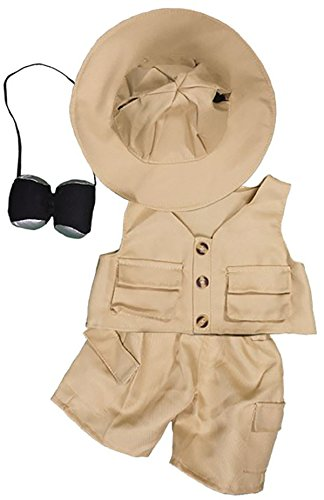 Bear Clothes Outfit - Safari Outfit Teddy Bear Clothes Outfit Fits Most 14