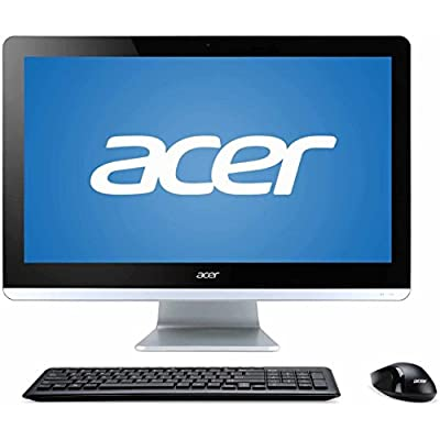 """Newest Acer Aspire 19.5"""" All-in-One Desktop (FHD 1080P Display, Intel Celeron N3150 Quad-core up to 2.08 GHz CPU, 4GB RAM, 500GB HDD, DVDRW, 802.11ac WiFi, Windows 10 Home) (Certified Refurbished)"""